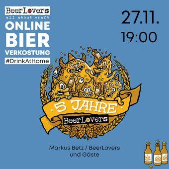 27.11.2020: 5 Jahre BeerLovers Online Verkostung