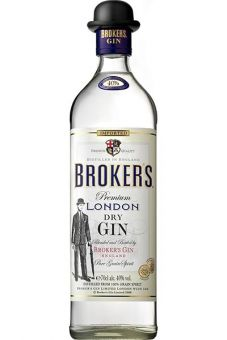 Brokers Dry Gin 0,7L