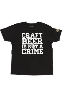 Crime Shirt Black L