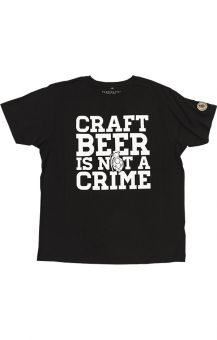 Crime Shirt Black M