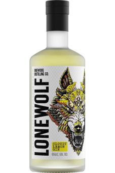 LoneWolf Cloudy Lemon Gin 0,7L