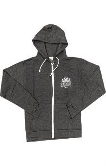 Stone Zip Hoodie Grey XL