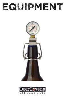CO2 Messgerät für Bügelflaschen