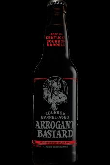 Arrogant Bastard Bourbon Barrel Aged